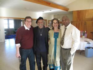 Charles Neville, Corey Sanderson and Us