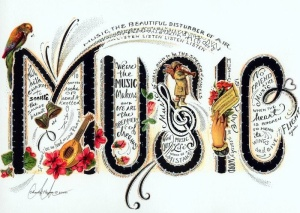 Music is... image