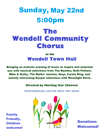 Wendell Community Chorus Spring 2016 Concert (3)