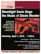 April 7 - Stevie Wonder Poster